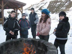 Zimowe ognisko 2011