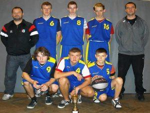Mistrzostwa Województwa w Koszykówce Chłopców Frysztak 04.11.2008