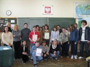 Konkurs humanistyczny 2008