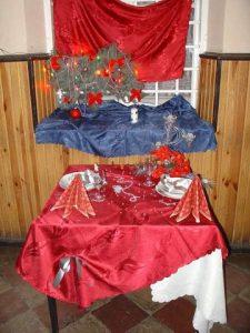 Wystawa stołów – Boże Narodzenie 2004