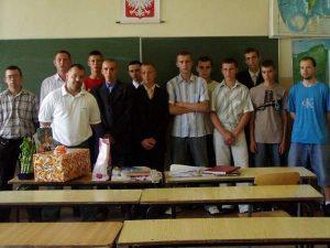 Koniec roku szkolnego klas III – 2007