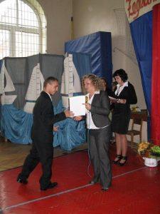 Koniec roku szkolnego klas III 10.06.2011