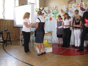Koniec roku szkolnego klas III 18.06.2010
