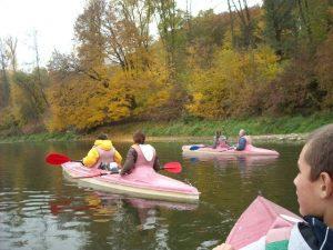 Spływ kajakowy 12.10.2013