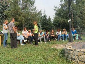 Ognisko integracyjne w Maćkowicach 24.09.2015