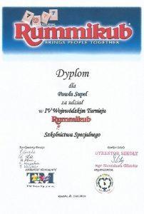 Turniej Rummikub Rzeszów 13.05.2015