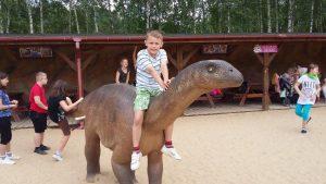 Wycieczka tropem dinozaurów